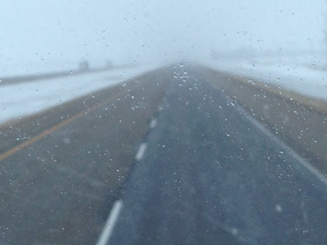 Nasty March Weather Brandon, Manitoba Canada