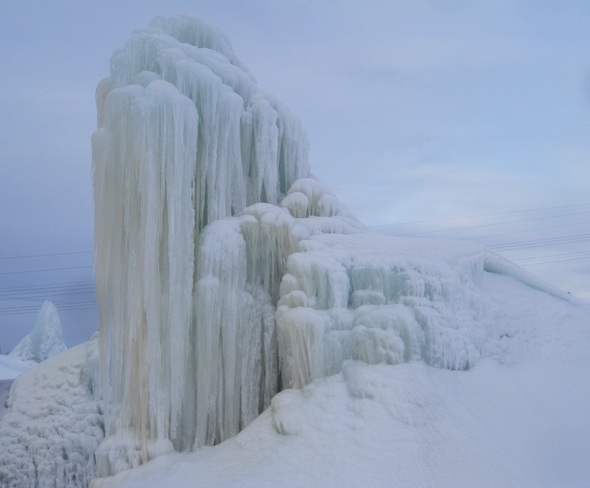 Ice Castle?! Deer Lake, Newfoundland and Labrador Canada