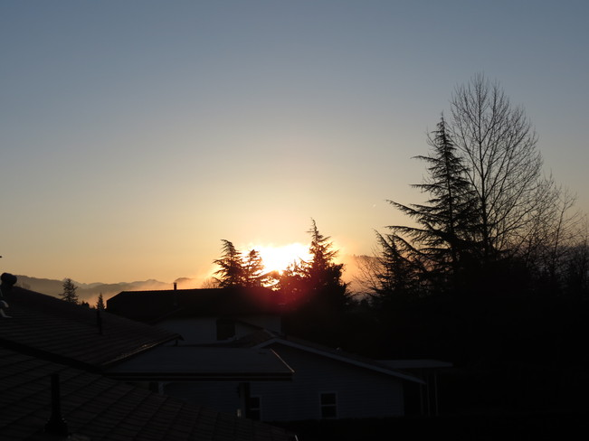 Sunny Sunday Morning Abbotsford, British Columbia Canada