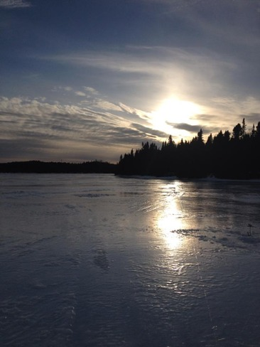 Beauty Day on The Pond. Gambo, Newfoundland and Labrador Canada