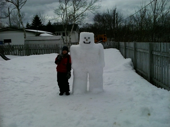 Christian and snowfriend Mount Pearl, Newfoundland and Labrador Canada