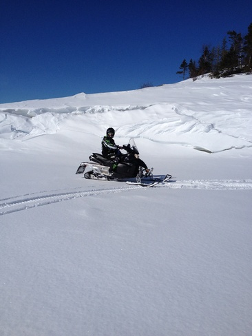 beautiful day ski-doo . Norris Arm, Newfoundland and Labrador Canada