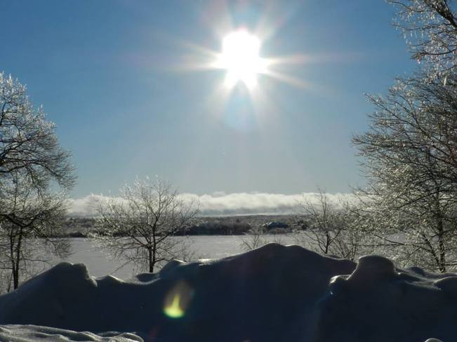Winter in NB Miramichi, New Brunswick Canada