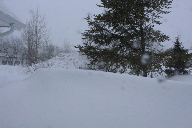Snow weather Happy Valley-Goose Bay, Newfoundland and Labrador Canada