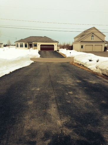 Before/After Noreaster in Summerside Summerside, Prince Edward Island Canada