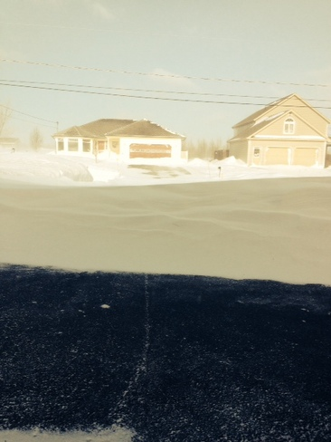 Before/After Noreaster Summerside, Prince Edward Island Canada