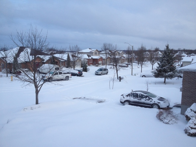 winter again Kingston, Ontario Canada