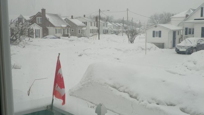 More March Snow in Moncton Moncton, New Brunswick Canada