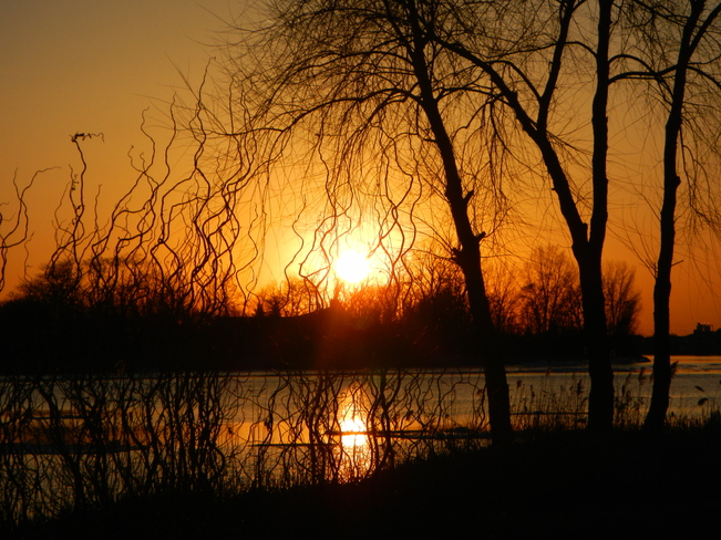 Early Spring Sunset LaSalle, Ontario Canada