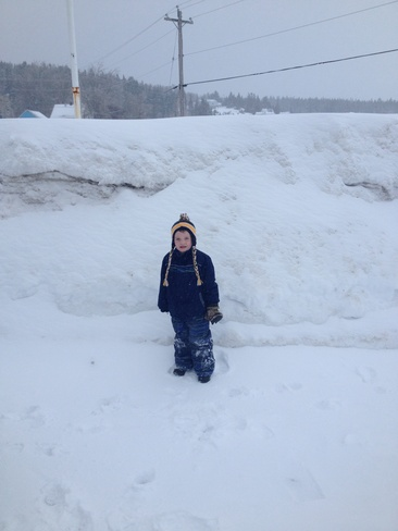 Big Snow Banks Dingwall, Nova Scotia Canada