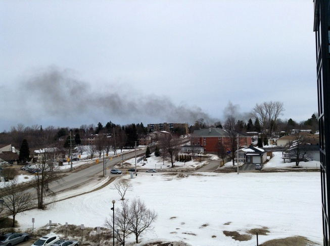 Where there is smoke is fire Orillia, Ontario Canada