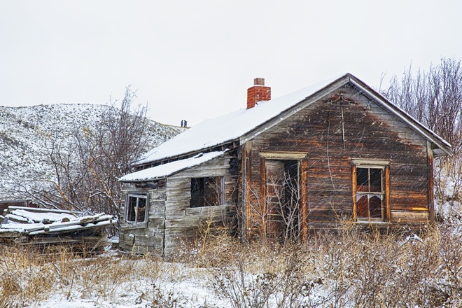 This old house Calgary, Alberta Canada