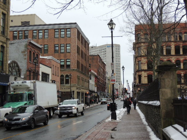 Downtown Halifax April 2nd 2014 Halifax, Nova Scotia Canada