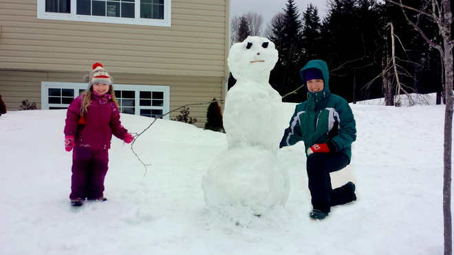 Last Snowman of the Year