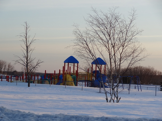 Playground Bathurst, New Brunswick Canada
