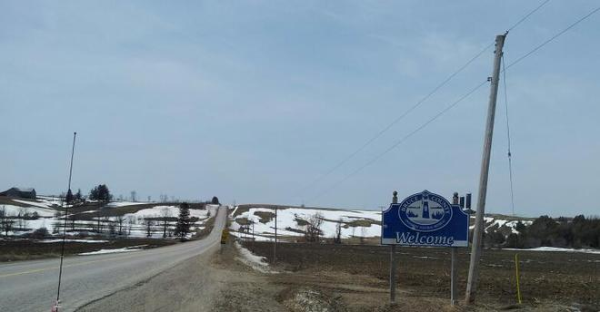welcome to the snow hills of bruce county Neustadt, Ontario Canada