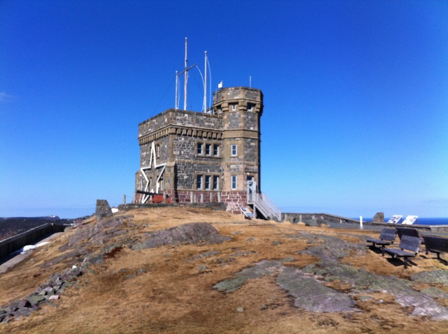 Cabot Tower, Signal Hill St. John's, Newfoundland and Labrador Canada