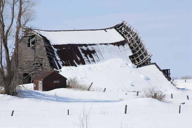 Old Barn-Harris Twp Temiskaming Shores, Ontario Canada