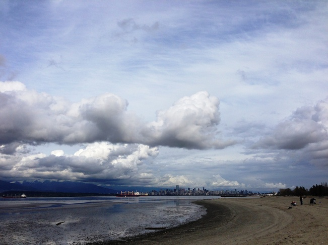 Heavy clouds over Vancouver Vancouver, British Columbia Canada