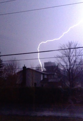 Lightning Strike - Russell, ON Russell, Ontario Canada