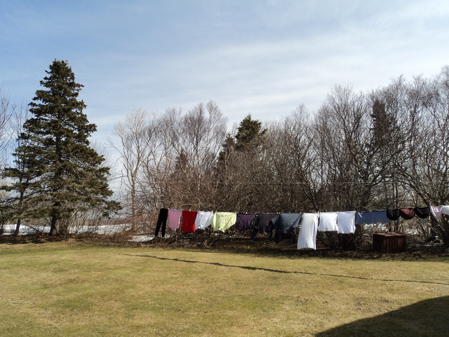 Spring into spring with the clothesline Carbonear, Newfoundland and Labrador Canada