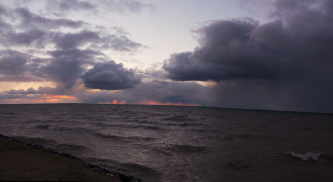 Stormy Sunset Niagara On The Lake, Ontario Canada