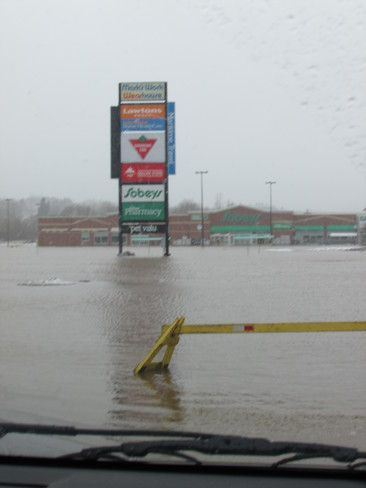 Flooding in Sussex Sussex, New Brunswick Canada