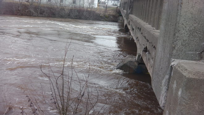 high water in nb # 2