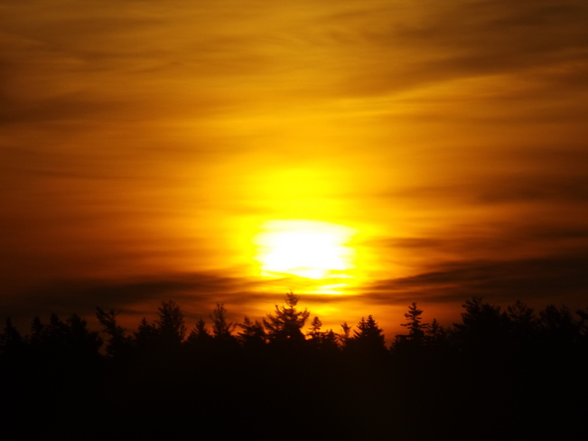 sun-up friday New Minas, Nova Scotia Canada