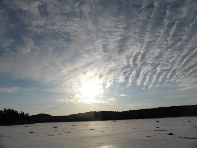 Rising Sun Birchy Bay, Newfoundland and Labrador Canada
