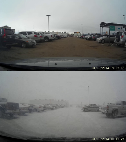 What A Difference An Hour Makes Thunder Bay, Ontario Canada