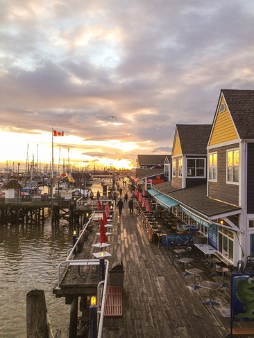 steveston harbour Richmond, British Columbia Canada