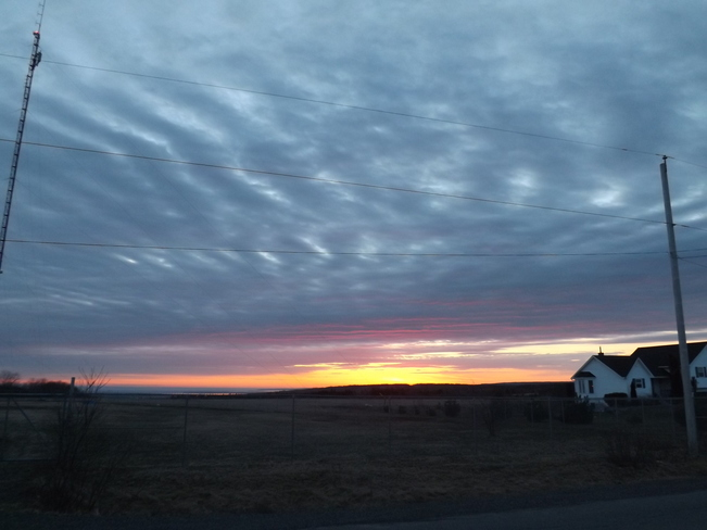 sunrise monday New Minas, Nova Scotia Canada