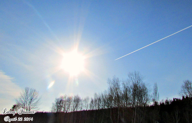 """Flying To The Sun"" Springdale, Newfoundland and Labrador Canada"
