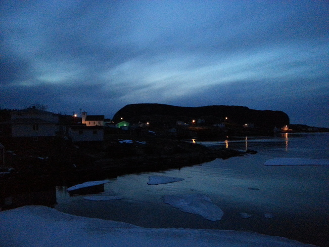 Grey Evening In Salvage Salvage, Newfoundland and Labrador Canada