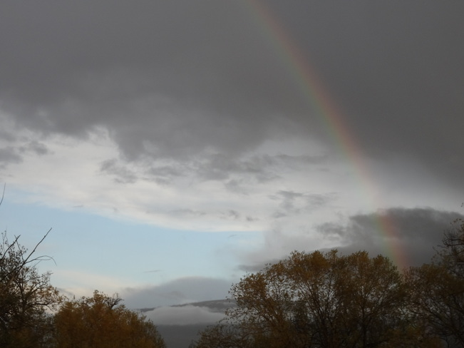 April rainbow Kelowna, British Columbia Canada
