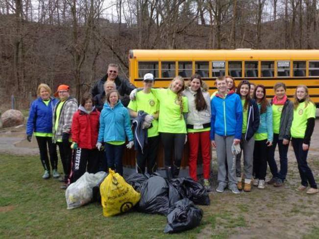 Earth Day Clean Up ! Bowmanville, Ontario Canada