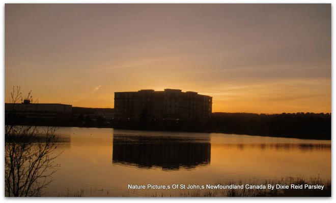 Sunset St. John's, Newfoundland and Labrador Canada