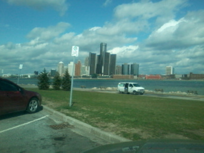 Downtown Windsor, Ontario Canada