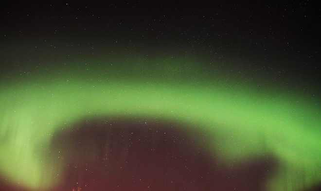 Aurora Over Red Deer AB Red Deer, Alberta Canada