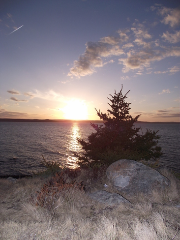 Sunset, and light Conception Bay South, Newfoundland and Labrador Canada