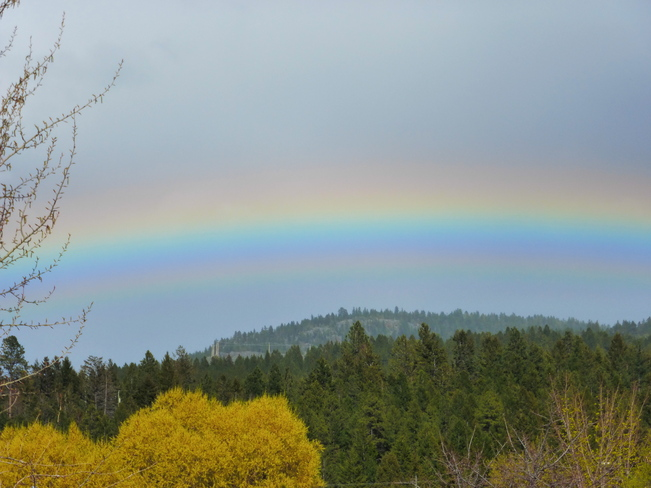SOMEWHERE OVER THE RAINBOW.... Cranbrook, British Columbia Canada