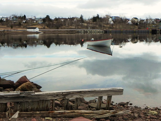 Ice free harbour Botwood, Newfoundland and Labrador Canada