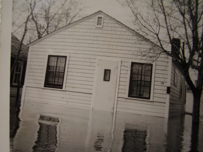 1950 Flood in Winnipeg Winnipeg Beach, Manitoba Canada