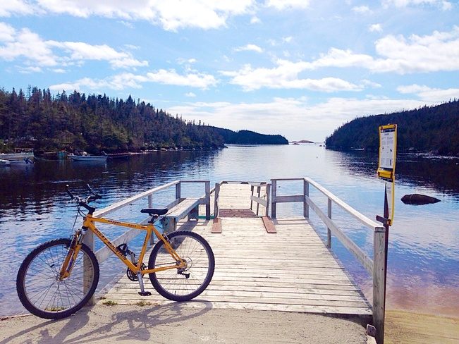 Bike ride to Aarons Arm ! Burgeo, Newfoundland and Labrador Canada