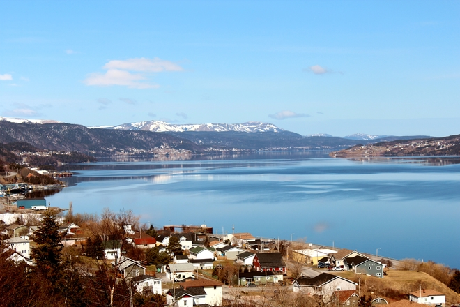 Beautiful Day Corner Brook, Newfoundland and Labrador Canada
