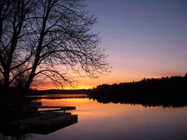 Sunrise French River, Ontario Canada