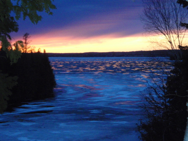 Thunder Lake Sunset Dryden, Ontario Canada