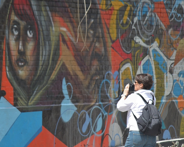 out taking pictures Toronto, Ontario Canada
