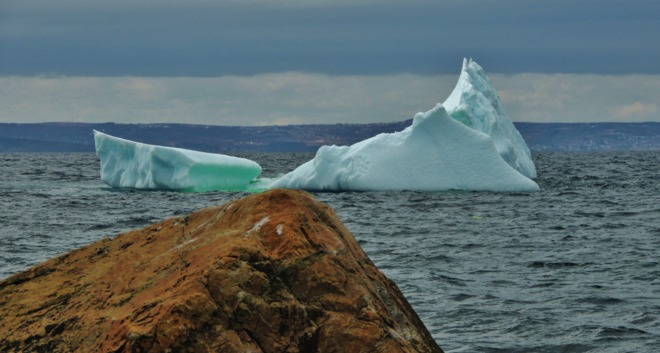 Small Iceberg in CBS yesterday St. John's, Newfoundland and Labrador Canada
